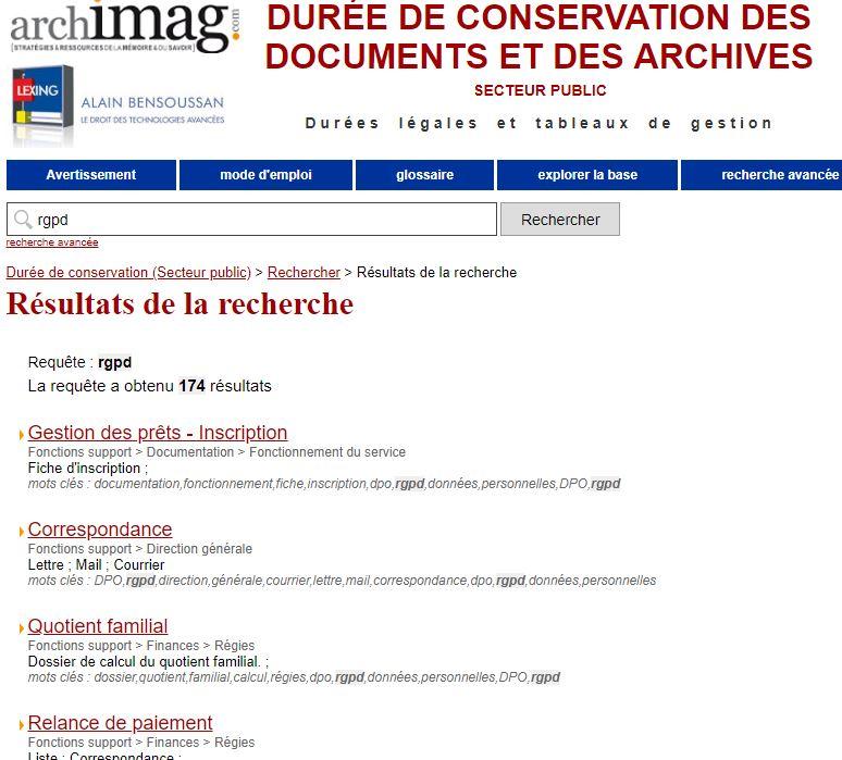 Durees De Conservation Des Documents Rh Et Rgpd Serda Conseil